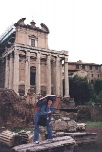 3.Римский Форум.Храм Антонина и Фаустины.