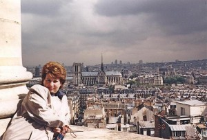 7. Панорама Парижа с Пантеона.