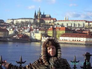 Прага.Кремль над Влтавой.