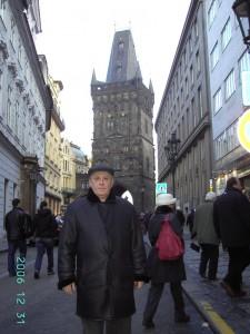 Прага. Пороховая башня.