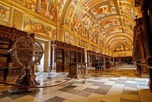 Эскориал.Библиотека.