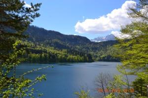 Бавария. Озеро Альпензее