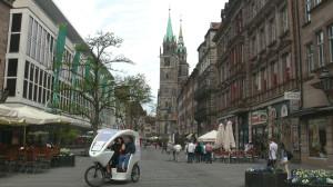 Нюрнберг. Церковь Святого Лаврентия