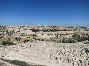 Иерусалим.Вид с Масличной горы