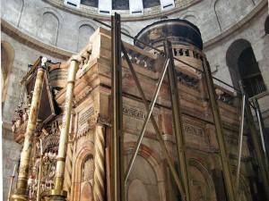 Иерусалим.Храм Гроба Господня.Кувуклия.