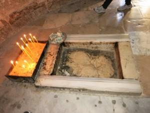 Иерусалим. Часовня Вознесения.