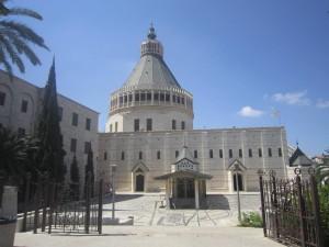 Назарет. Церковь Благовещения