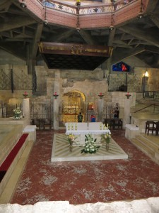 Церковь Благовещения. Грот Марии.