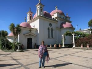 Капернаум. Церковь Двенадцати Апостолов.