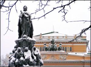 Петербург. Памятник Екатерине ІІ